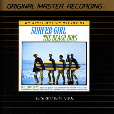 The Beach Boys Surfin U S A Surfer Girl Mfsl Udcd 521